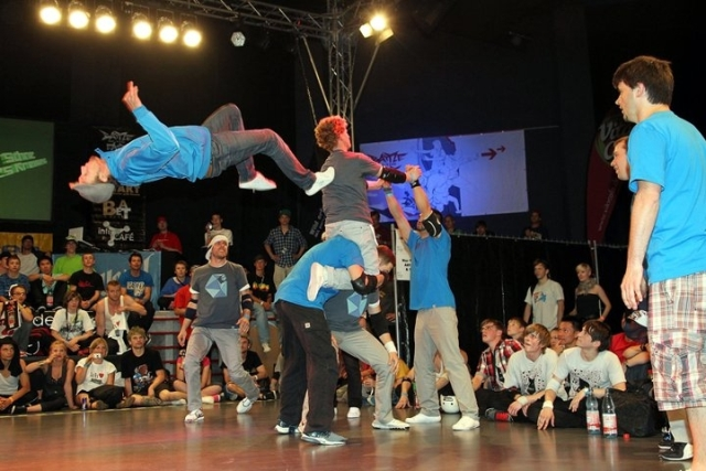 Bautzner beim Battle of the Year Germany!