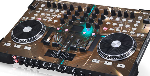American Audio VMS4 – All-In-One-DJ-Controller