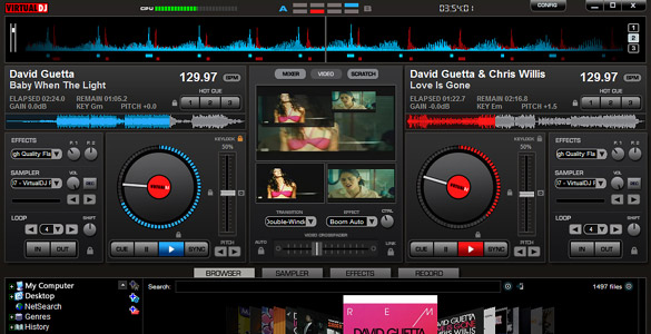 Gratis: Virtual-DJ-Software in der Home-Edition