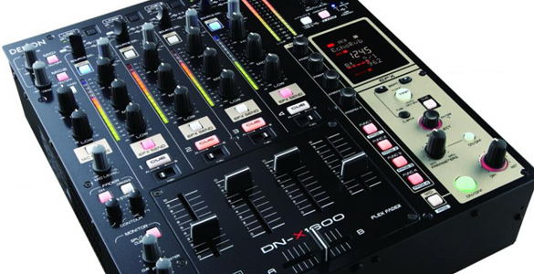 Denon DN-X1600 4Channel Digital-DJ-Mixer