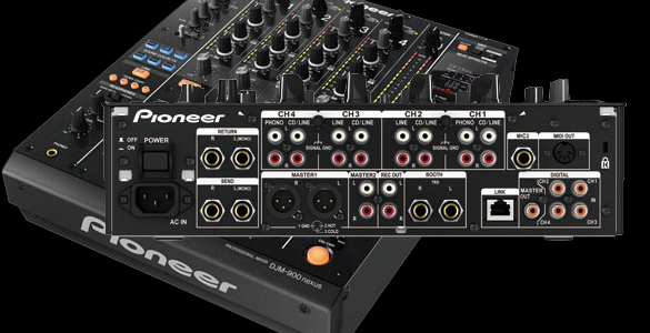 Pioneer DJM900 Nexus Digital-DJ-Mixer