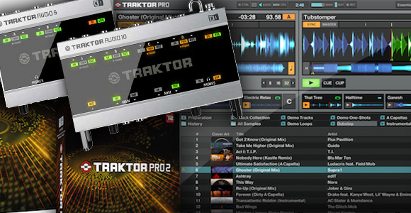 Native Instrument Traktor 2 und Audio 6/10