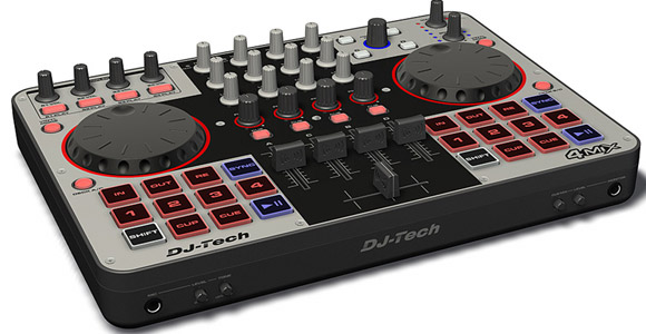 DJTech 4Mix DJ Controller