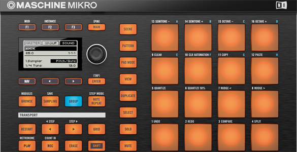 Maschine Mikro von Native Instruments